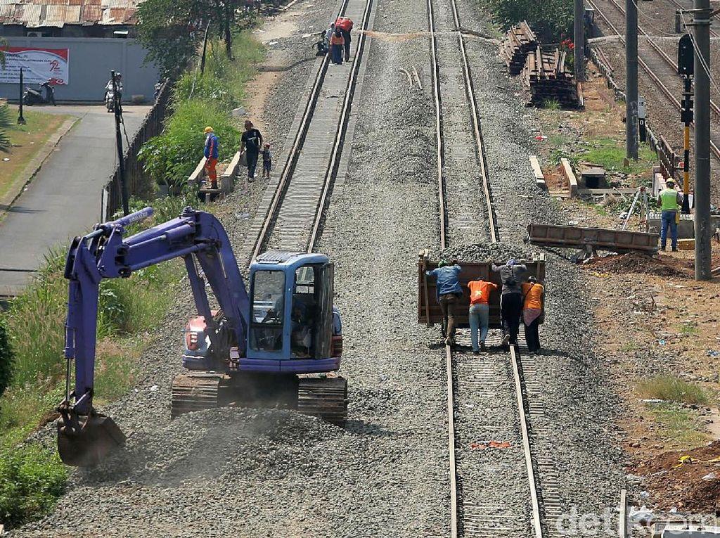 Jalur Kereta Api Ganda Lintas Selatan Jawa Selesai 2019