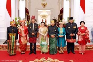 Melihat Lagi Akrabnya Jokowi, SBY dan Megawati di Istana Merdeka