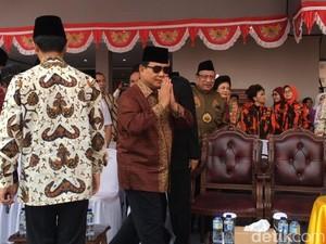 Mahasiswa UBK Pingsan saat Upacara, Prabowo: Jiwanya Semangat