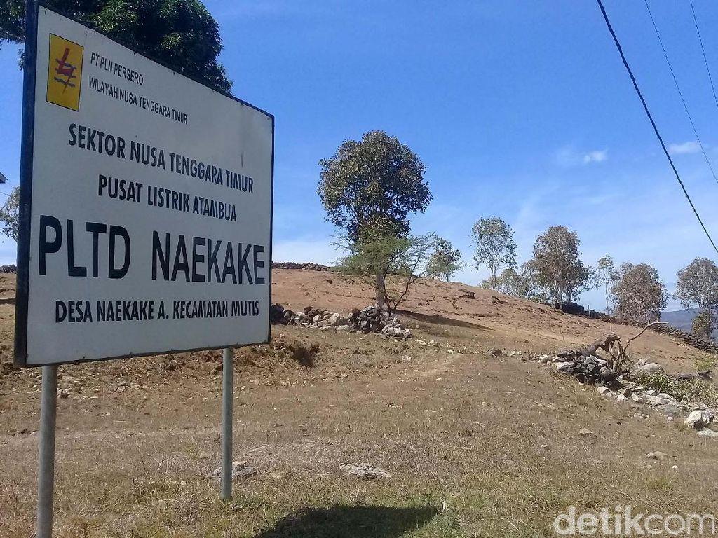 Foto : Desa Naekake di Perbatasan RI-Timur Leste Nikmati Listrik 24 Jam
