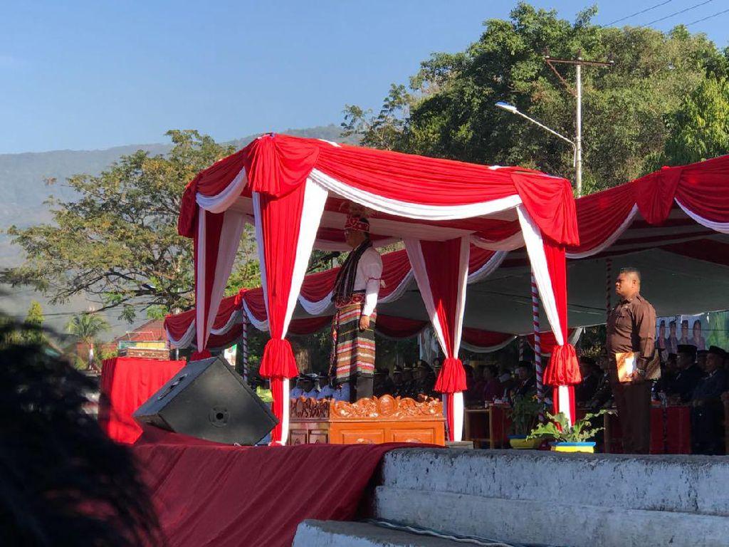 Menkominfo Pimpin Upacara Kemerdekaan di Alor