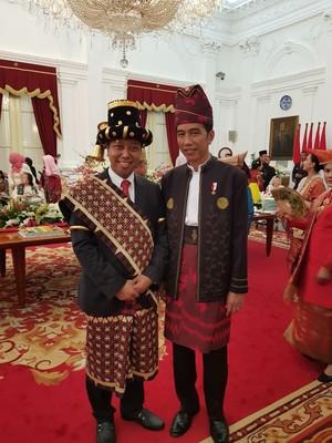 Selfie Ceria Ketum PPP di Istana: Dengan Megawati Hingga SBY