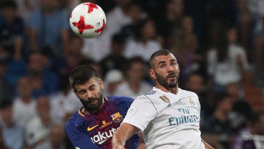 Kembali Taklukkan Barcelona, Madrid Angkat Trofi Piala Super Spanyol