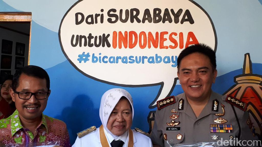 Pertumbuhan Ekonomi Pesat, Risma: Surabaya Sudah Kalahkan Jakarta