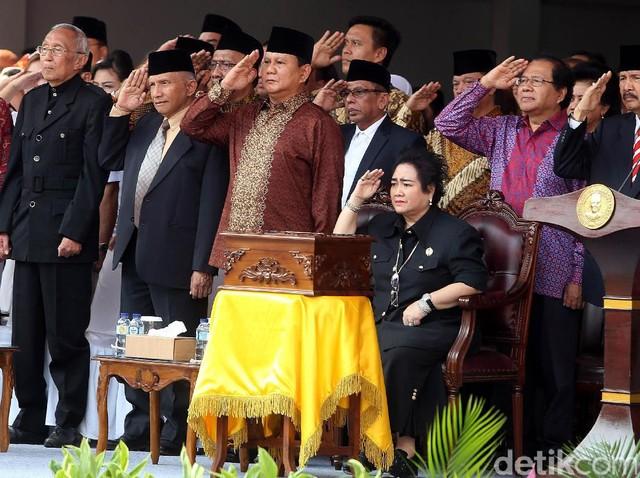 Prabowo dan Amien Rais Hadiri Upacara Kemerdekaan di UBK