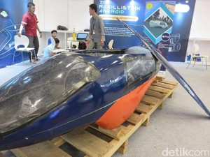 Mobil Listrik Rancangan UNJ Super Irit
