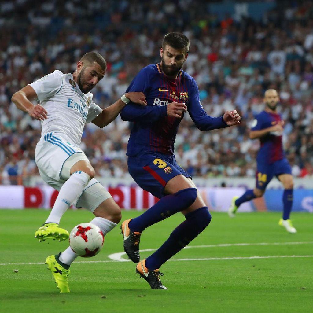 Pique Akui Kali Ini Madrid Lebih Hebat daripada Barca