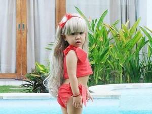 Foto: Kecil-kecil Pakai Wig, Mana yang Paling Kece?