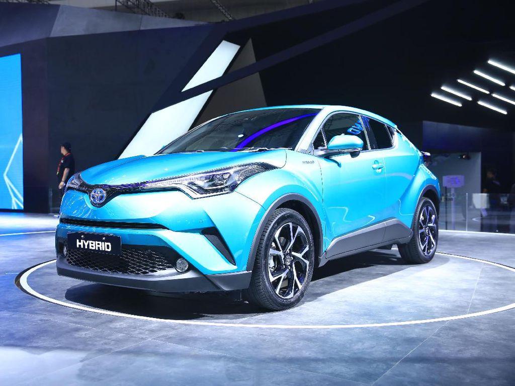 Toyota Luncurkan C-HR Hybrid Tanpa Tunggu Insentif