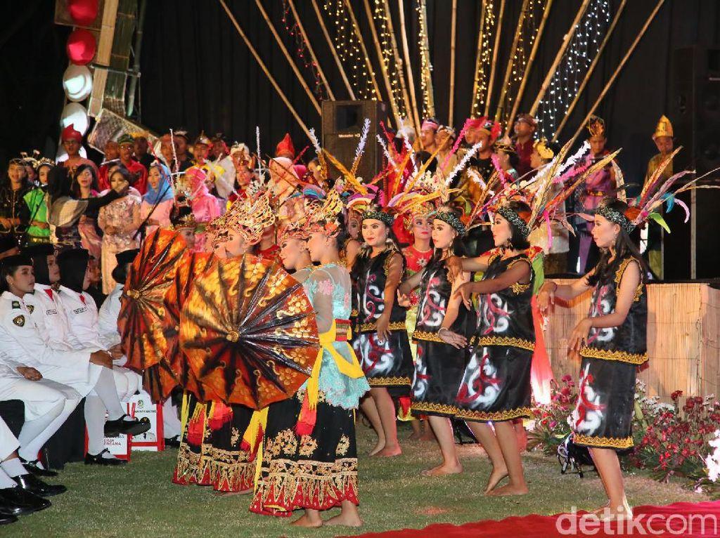 Banyuwangi Suguhkan Malam Kebinekaan di Festival Merdeka di HUT RI