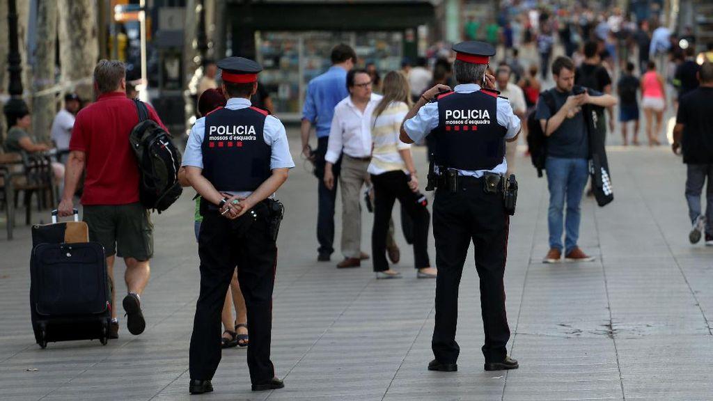 Tersangka Ketiga Ditangkap Terkait Rentetan Teror di Spanyol