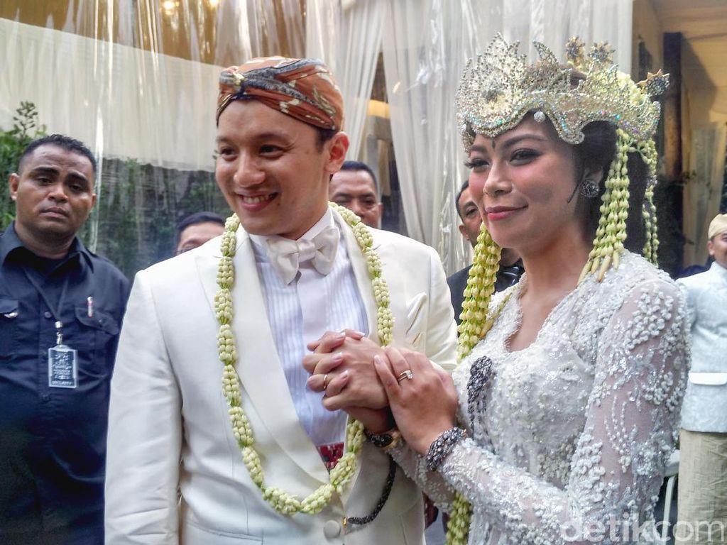 Makna Angka 45 di Pernikahan Moreno Soeprapto dan Putri eks Menteri BUMN