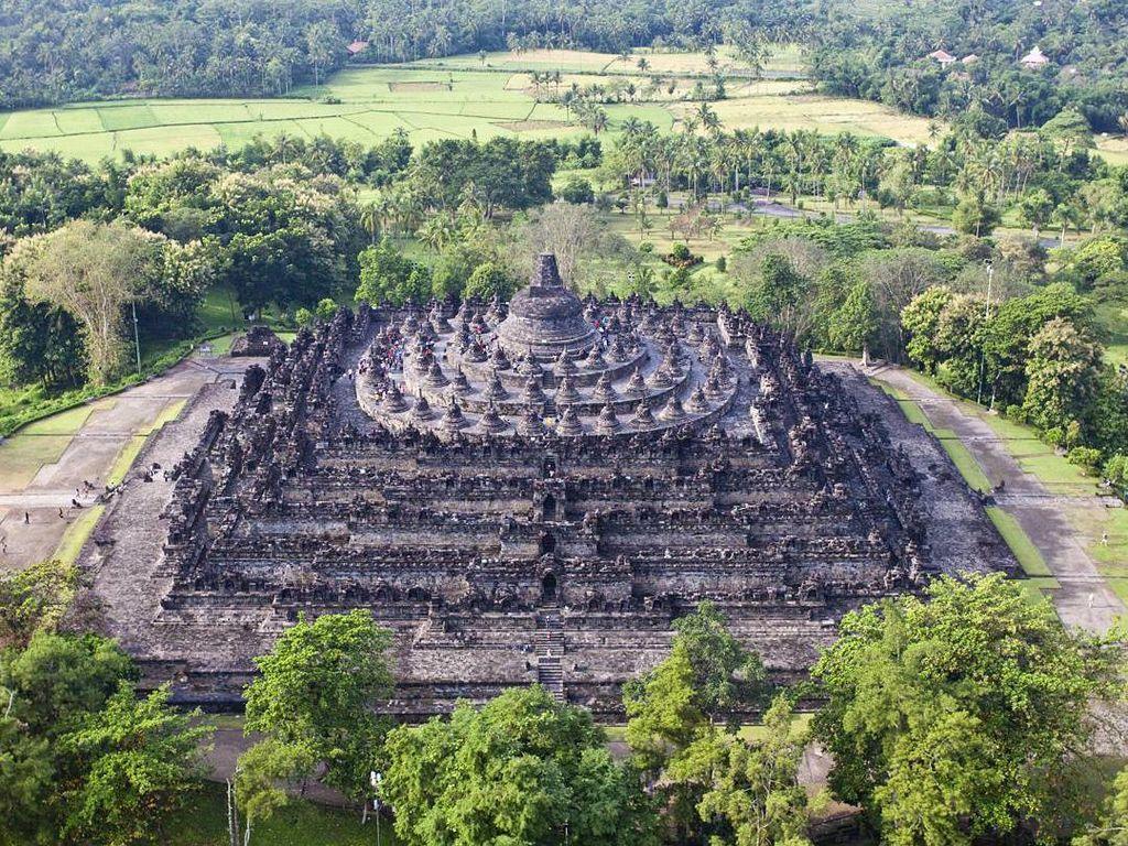Dolar AS Menguat, Kunjungan Wisman ke Borobudur Naik 100%