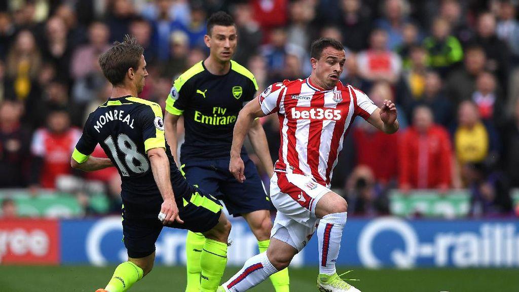 Misi Arsenal Perbaiki Rekor di Markas Stoke City