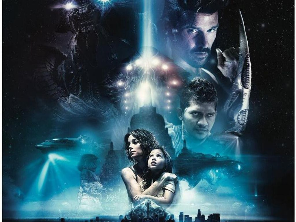 Beyond Skyline, Pertarungan Alien Melawan Pencak Silat