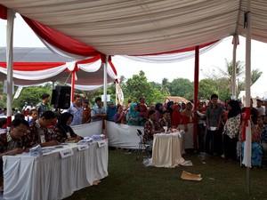 Begini Antusiasme Warga Ikut Simulasi Pemilu Serentak di Tangerang