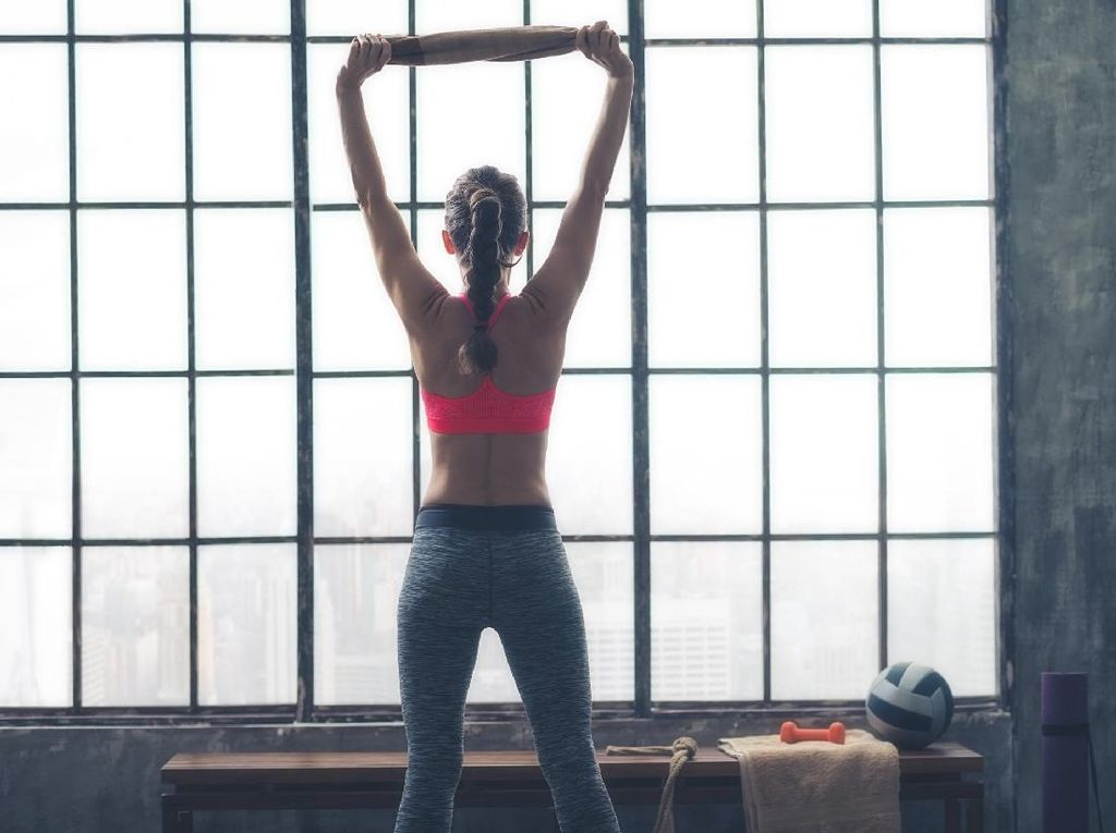 Luar Biasa! Wanita Ini Rajin Berolahraga Walau Idap Kanker Stadium Empat