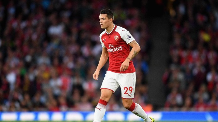 Gelandang Arsenal Granit Xhaka (Michael Regan/Getty Images)