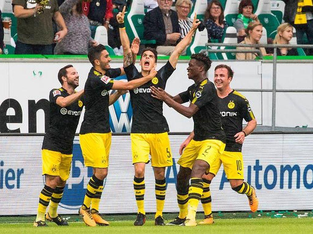 Dortmund Bekuk Wolfsburg 3-0