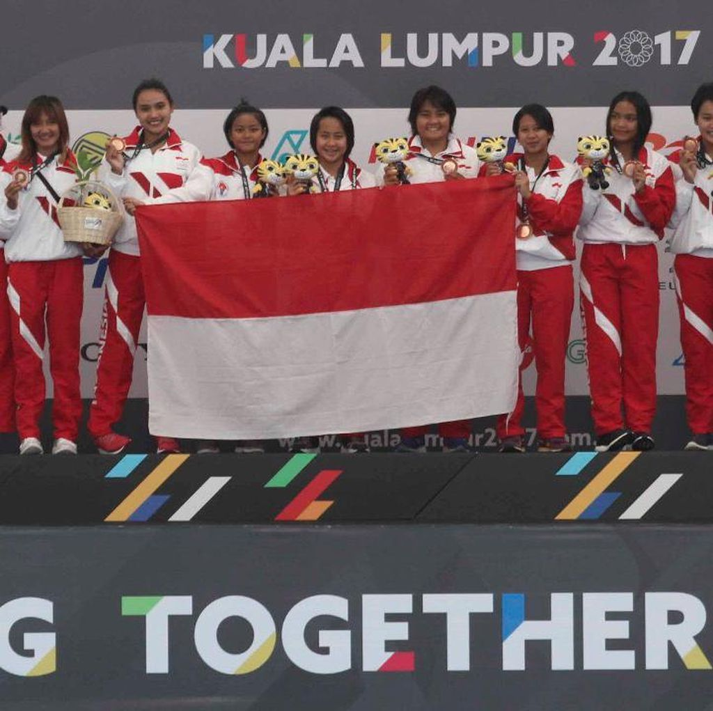 Polo Air Putri Raih Perunggu SEA Games 2017