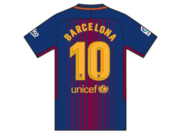 Tanpa Nama Pemain Jersey Barca Pekan Ini Akan Bertulis Barcelona