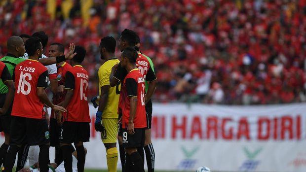 Beberapa pemain Timor Leste pernah berhadapan dengan penghuni Timnas Indonesia pada SEA Games 2017.