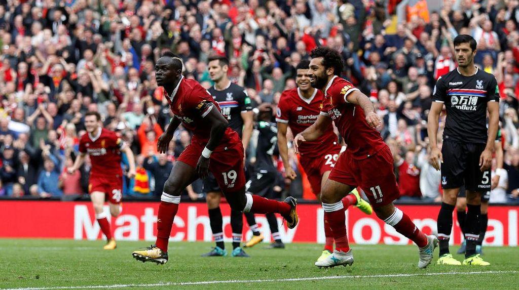 Palace Tak Lagi Meneror Liverpool di Anfield