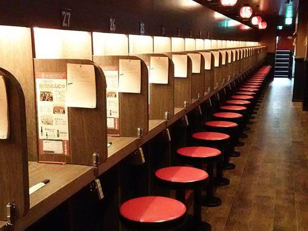 Foto: Restoran Buat Kamu yang Suka Menyendiri