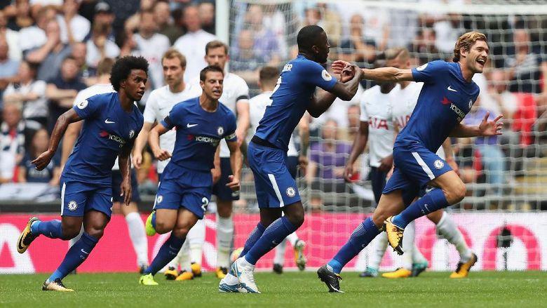 Marcos Alonso Menjadi Pahlawan Timnya Usai Tundukan Tottenham Di Kandang
