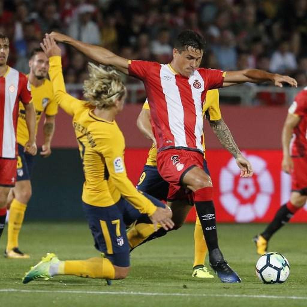 Griezmann Dikartu Merah, Atletico Imbangi Klub Promosi La Liga