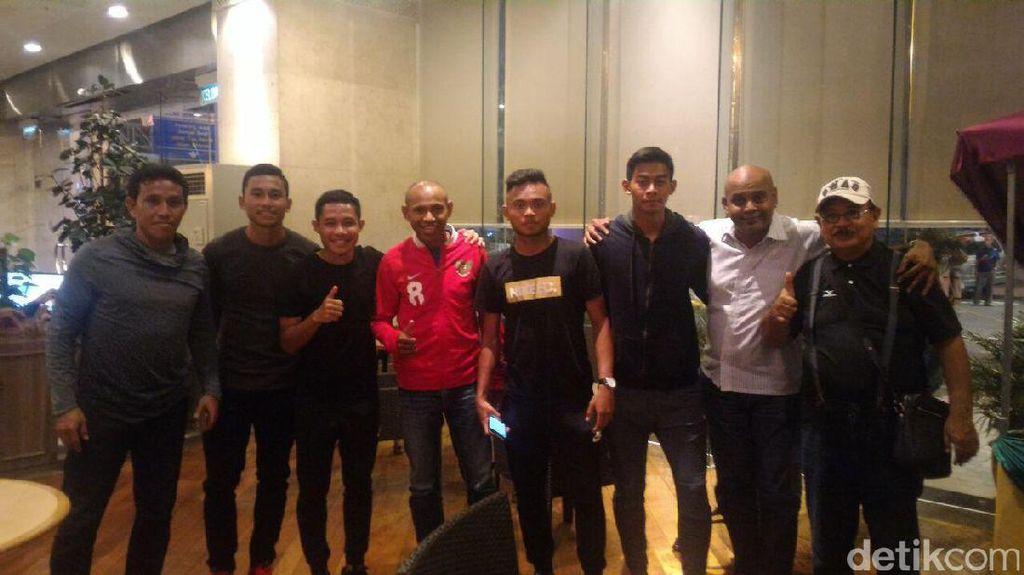 Mumpung di Malaysia, Elie Aiboy Dukung Indonesia Secara Langsung