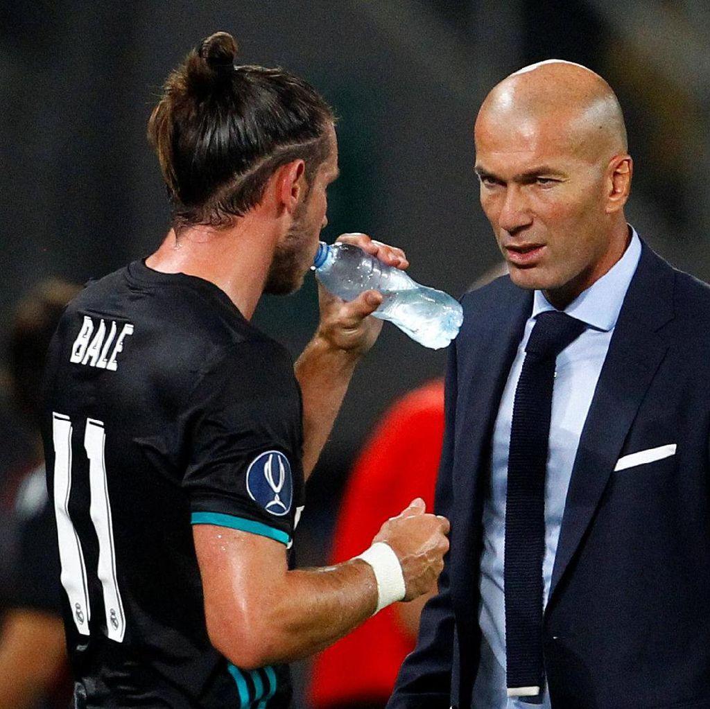 Zidane: Semoga Bale Cetak Gol agar Tak Disoraki Lagi