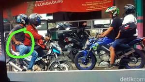 Polisi Periksa Rekaman CCTV Perampok Bersenpi di Tulungagung