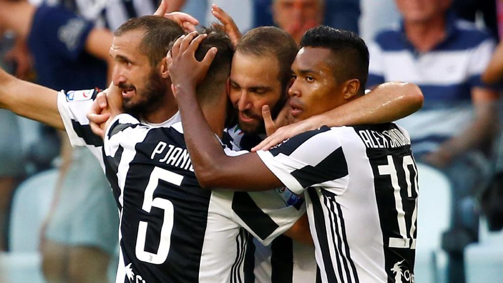 Juventus Belum Capai Puncak Performa