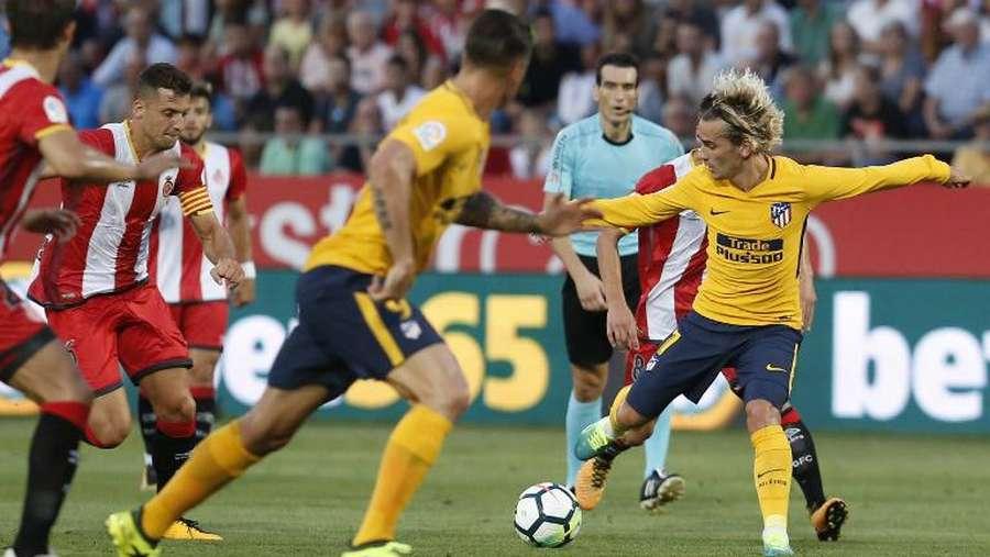 Tentang Kartu Merah Pertama Griezmann di La Liga