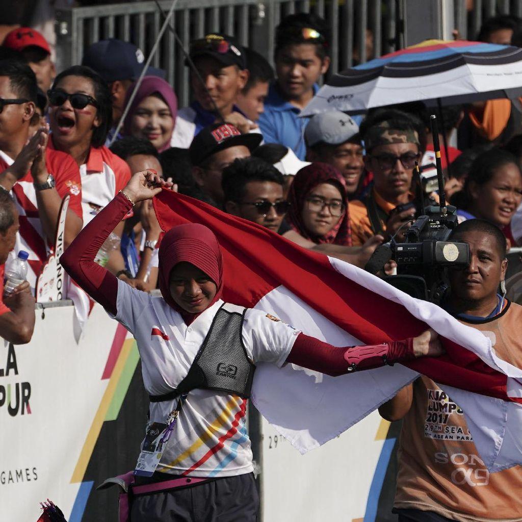 Indonesia Raya Berkumandang Lagi di Arena Panahan