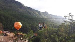 Foto: Sepeda Terbang di Bandung Barat