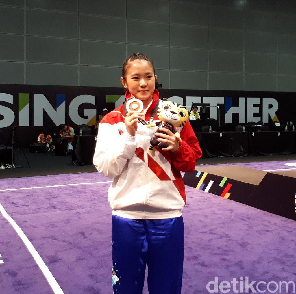 Medali Perunggu Jadi Persembahan Pertama Wushu untuk Indonesia