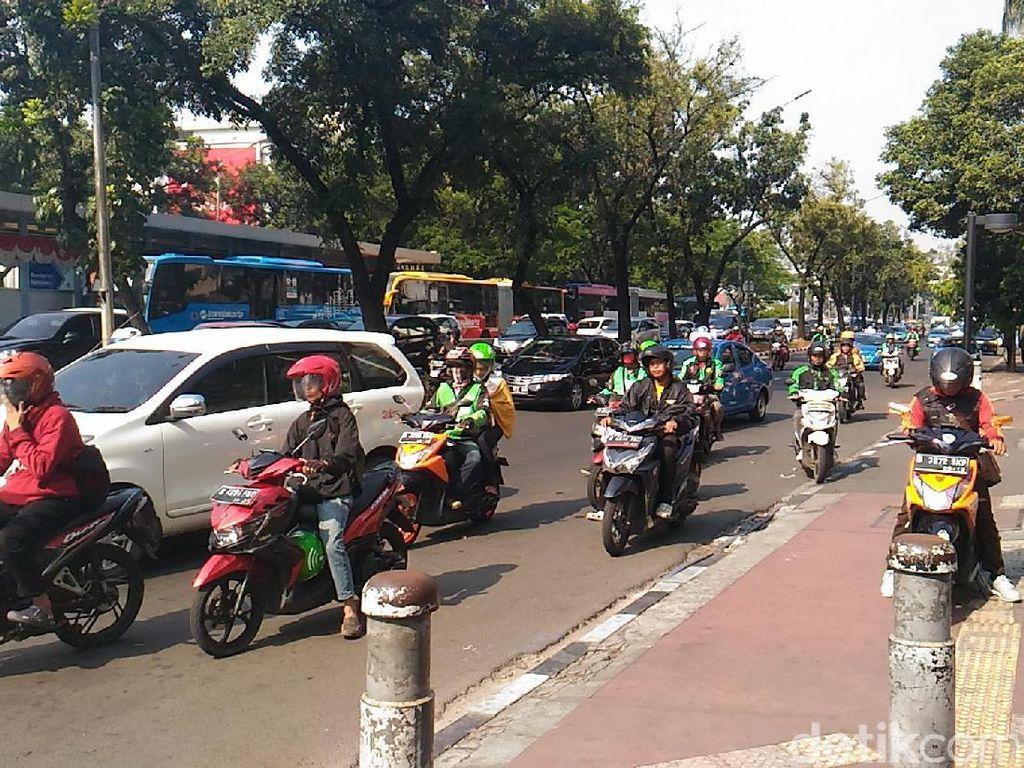 Sambut Asian Games, Trotoar di Sudirman-Thamrin akan Dipercantik