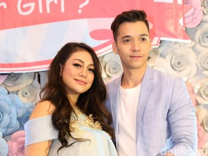 Mesranya Celine Evangelista dan Stefan William di Acara <i>Baby Shower</i>