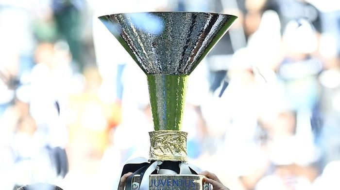 Trofi Serie A  (Photo by Valerio Pennicino/Getty Images)