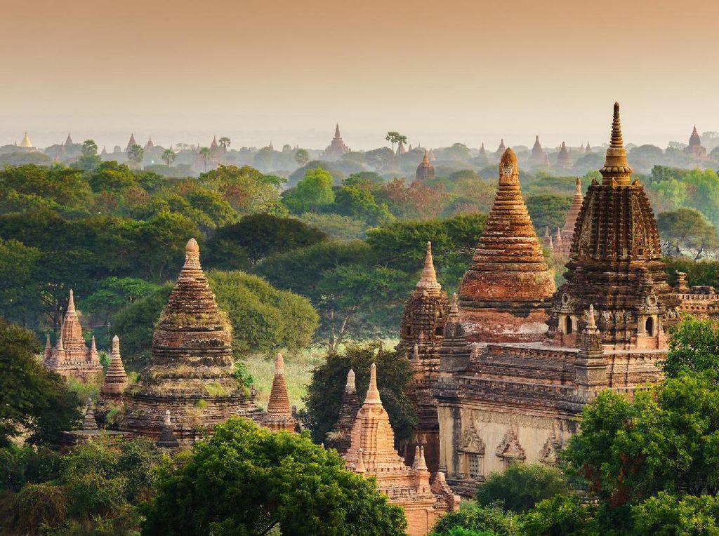 Turis AS Tewas Usai Jatuh dari Pagoda Myanmar Setinggi 6 Meter