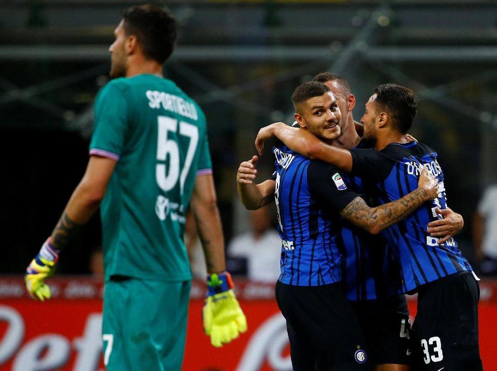 Kemenangan Inter Puaskan Spalletti