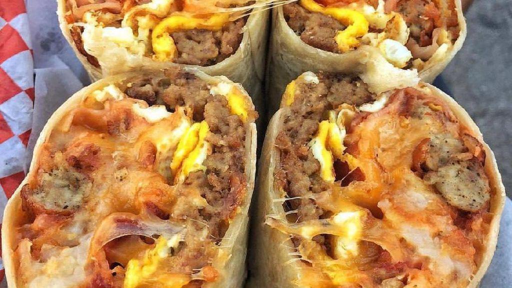 Kenyang Mantap! Burritos Kini Kian Gendut dan Banyak Isiannya