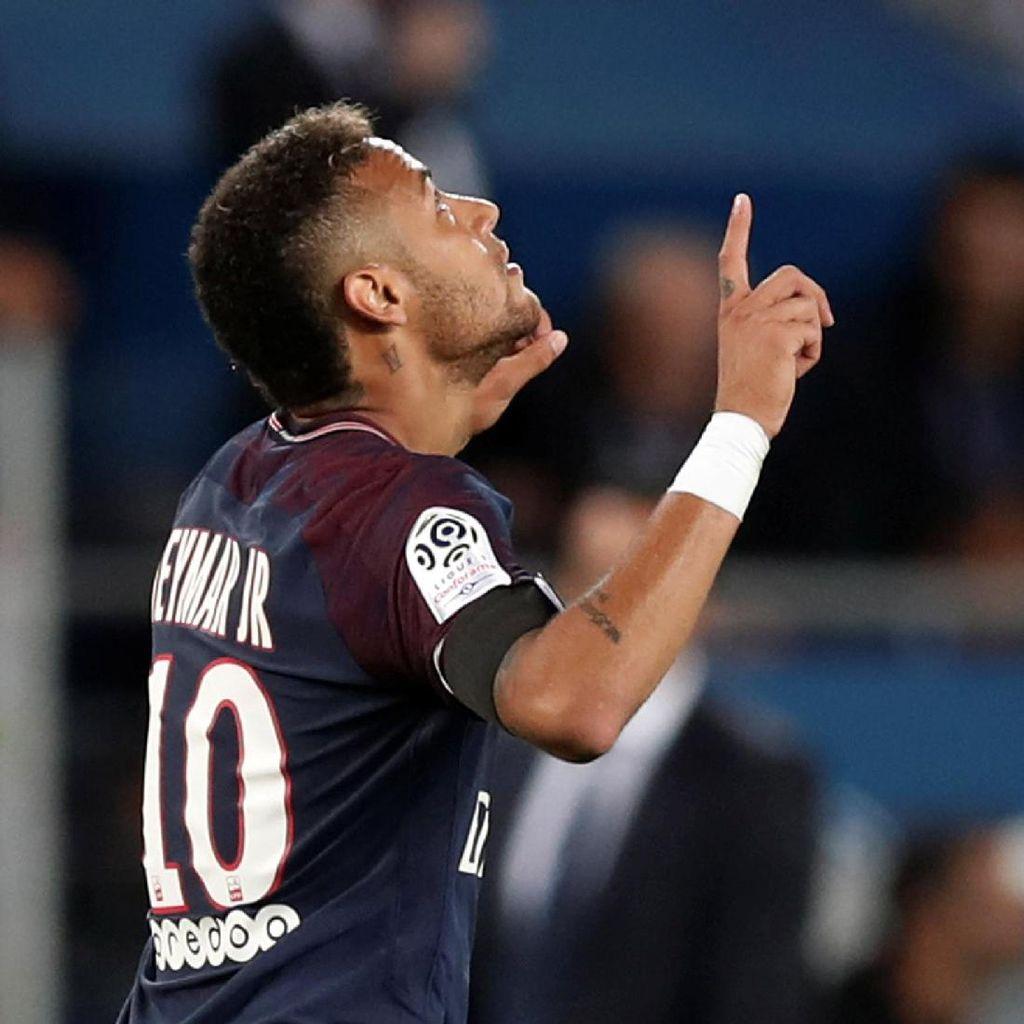 Dua Laga Awal Neymar di PSG: Tiga Gol dan Tiga Assist