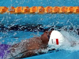 Siman Raih Emas dan Pecahkan Rekor SEA Games di 50 Meter Gaya Punggung