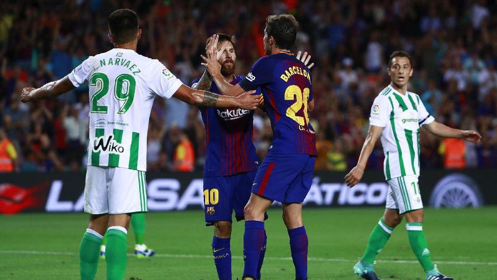 Barcelona Buka Musim dengan Kemenangan