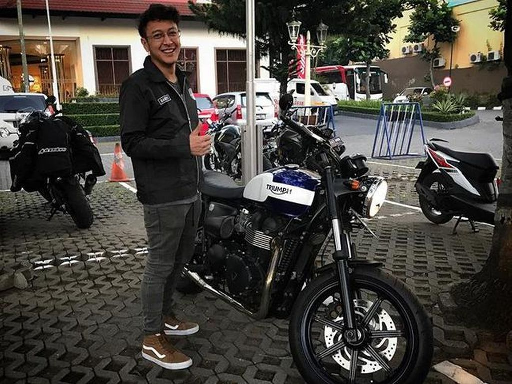 Imam Darto dan Dimas Anggara Semangat Touring Motor ke Bali