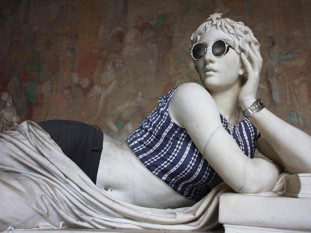 Video: Keren! Patung-patung dari Kertas Ini Bisa Memanjang