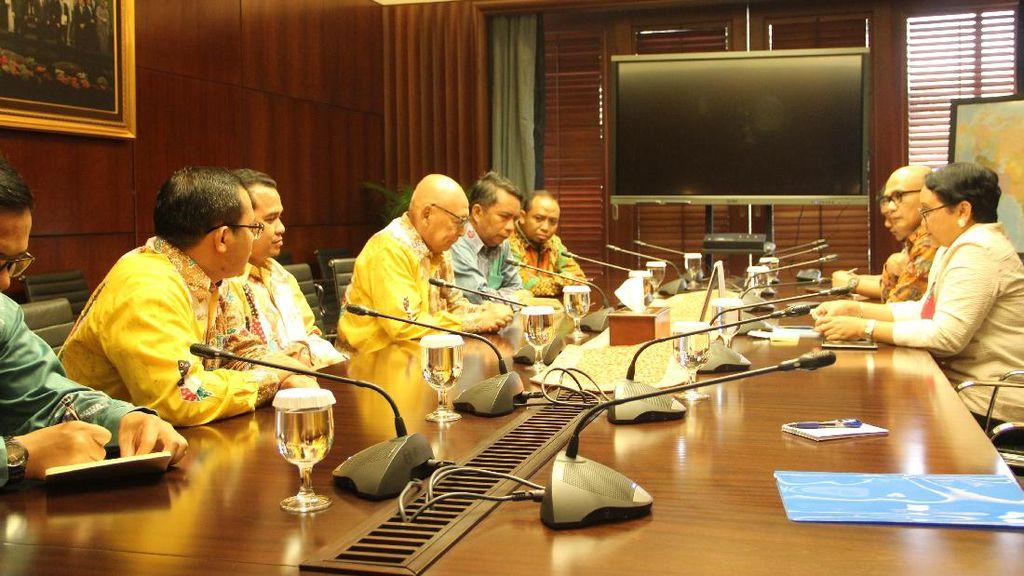 Silaturahmi KNRP ke Kementerian Luar Negeri RI